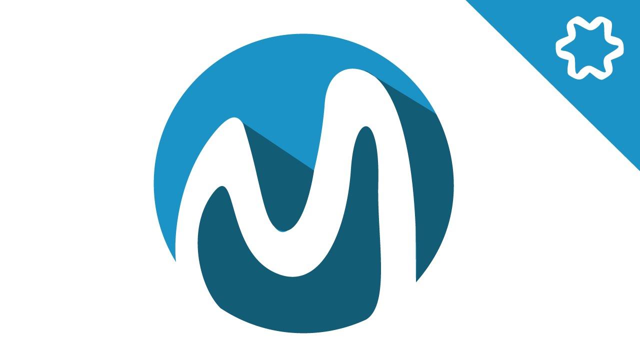 Custome Flat Letter Logo Design In Adobe Illustrator CC