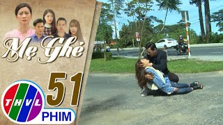 image Mẹ ghẻ - Tập 51[4]: Quân hối hả chạy ra đỡ Phương khi cô bị xe đụng trúng