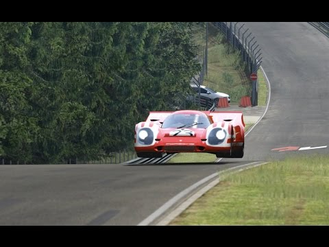 Assetto Online: Porsche 917K around the Nordschleife