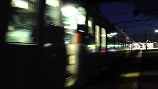 185系、共和駅にて。