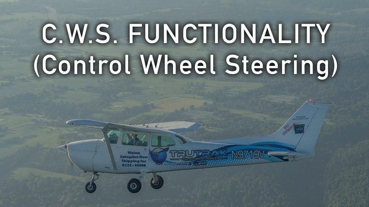 C W S  BUTTON (Control Wheel Steering)