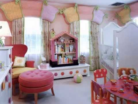diy little girls bedroom paint design decorating ideas - youtube