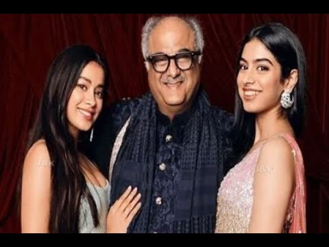Boney Kapoor tells younger daughter Khushi Kapoor`s career plans