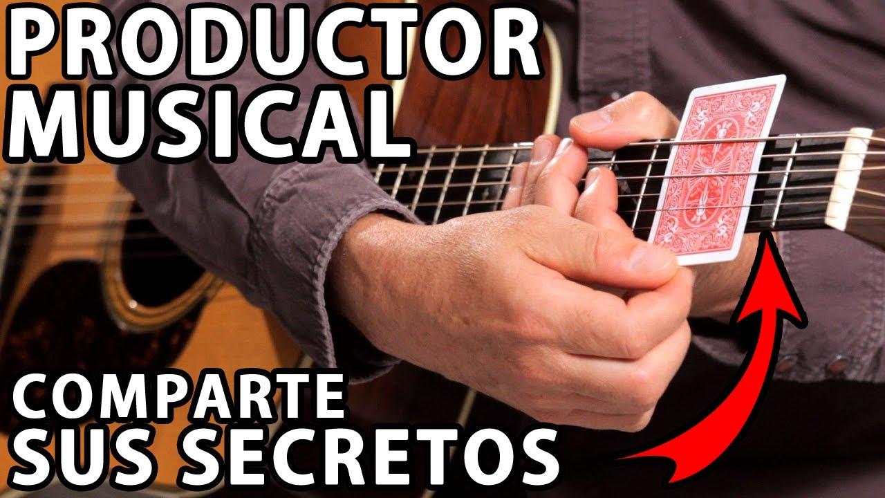 PRODUCTOR MUSICAL comparte sus SECRETOS para MEJORAR el SONIDO de tu GUITARRA ACÚSTICA