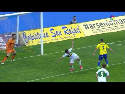Resumen de Cádiz CF vs Elche CF (2-1)