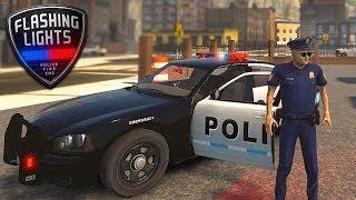 BEST POLICE SIMULATOR - Flashing Lights