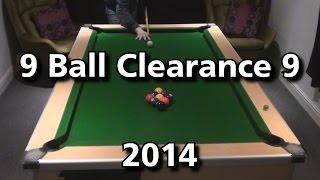 9 Ball Clearance 9- 2014- Flukey