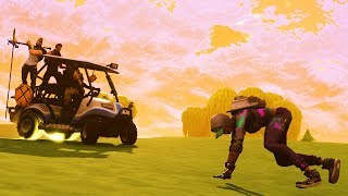 Nobody will fail as HARD as this.... Fortnite Golf Cart Trolling