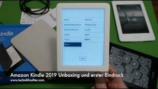 Amazon Kindle 2019 Unboxing und erster Eindruck