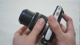 olympus Pen Mini E-PM1 Review and Test Footage