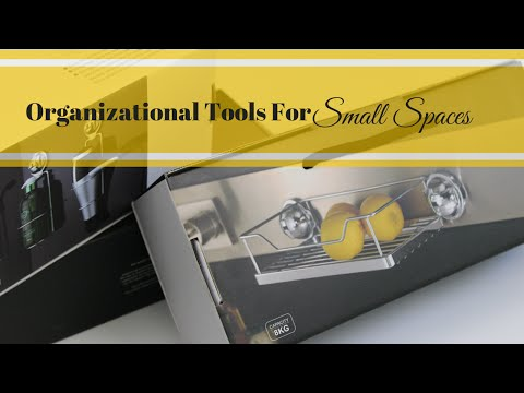 Organizational Tool For Small Spaces