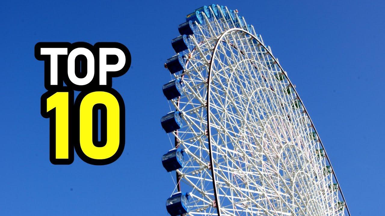 10 Tallest Ferris Wheels In The World Youtube