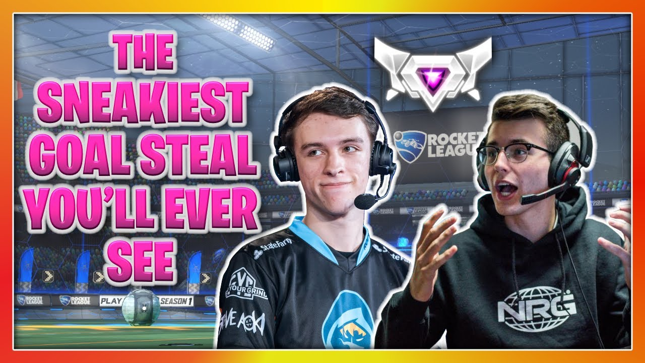 THE SNEAKIEST GOAL STEAL YOU'LL EVER SEE | GRINDING FOR SSL IN 3V3 | RANKED WITH KRONOVI & GARRETTG