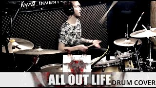 Slipknot - All Out Life (drum cover)  pARTyzant's son