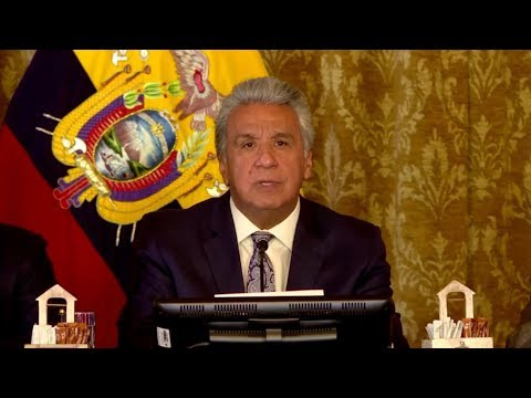 Ecuador President Lenin Moreno declares a state of emergency amid protests