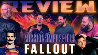 """Mission: Impossible - Fallout"" MOVIE REVIEW and DISCUSSION!!"