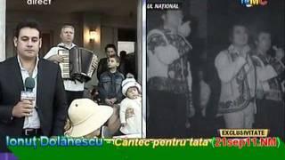 Ionuţ Dolănescu - Cântec pentru tata (21sep11.NM [22sep11, direct, Antena1 Tv])