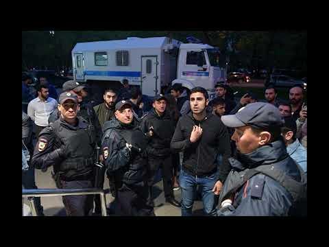 Армянская диаспора блокирует редакцию «Комсомольской правды» в Москве, вызван ОМОН