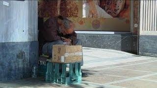 Yunanistan'da yoksulluk sınırı altında hayat