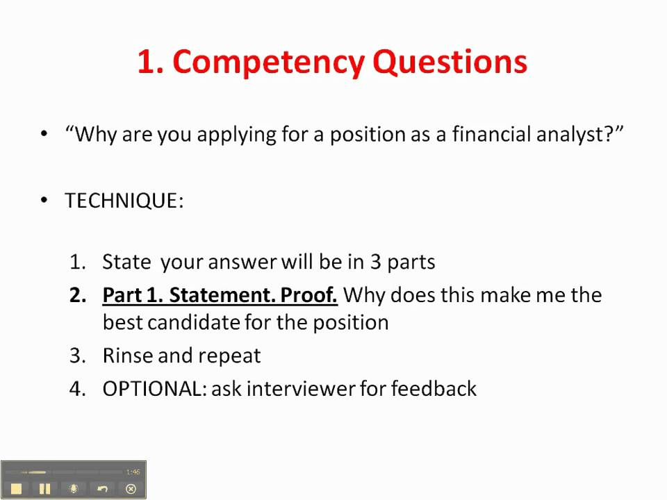 Difficult interview questions tips and advice (banking, finance