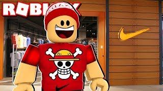 BUILDING MY STORE of NIKE of $1 million in the Nike Store Tycoon → ROBLOX 🎮