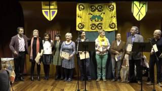 Poetas en Mayo 2016 Entrega de premios y teatro Fundación mejora Vitoria-Gasteiz