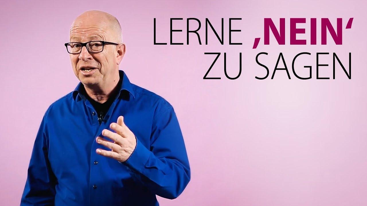 Robert Betz - Lerne Nein zu sagen - YouTube