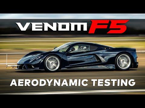 Hennessey Venom F5 Aerodynamic Testing