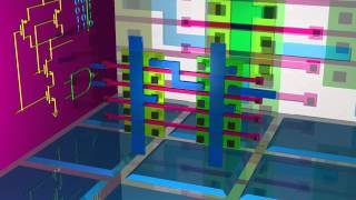 NAND Gate Transistor Design and CMOS Gate Array Implementation
