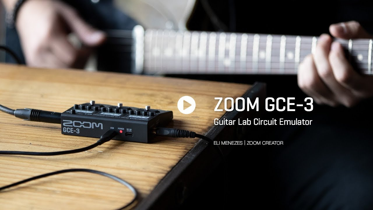 Real-World Review: Zoom GCE-3 Guitar Lab Circuit Emulator