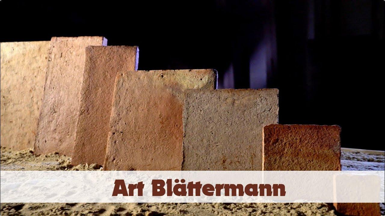 Terracotta Fliesen Cotto Art Blättermann Von Handgeformt Der Fliesen  Manufaktur