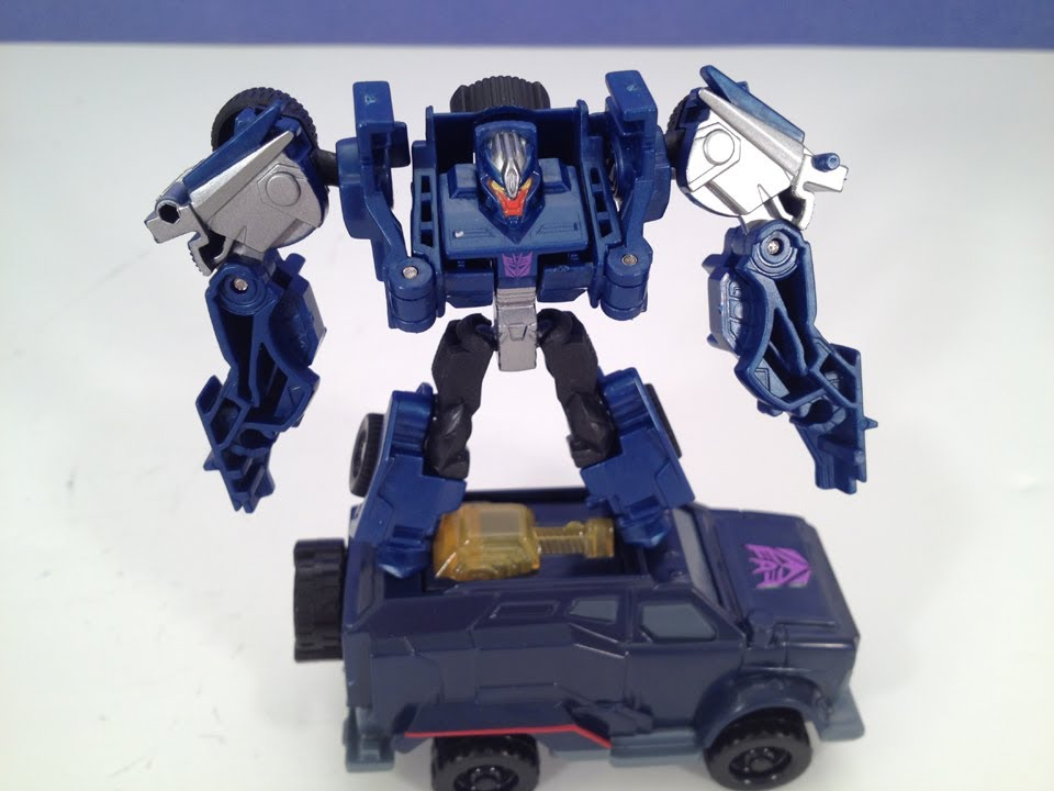 CYBERVERSE BREAKDOWN - TRANSFORMERS PRIME TOY REVIEW - YouTube