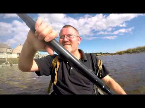 Kayak exploring Savanna Georgia