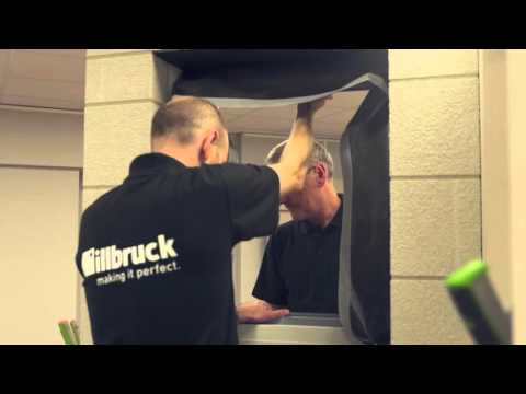 Installation of a Window into a Brick & Block Cavity Wall with the illbruck i3 System