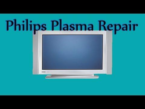 Philips / Magnavox Plasma Tv Repair 50PF7320A/37 Bad Capicators