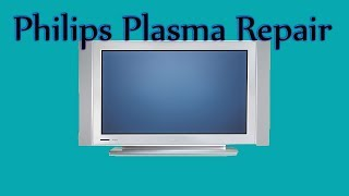 Philips / Magnavox Plasma tv repair 50PF7320A/37 Bad Capicators