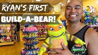 Ryan's First Build-a-bear! - July 18, 2014 | Fancyplusryan Vlog