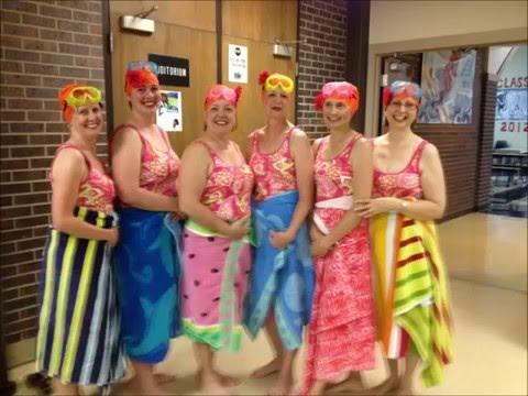 Flinthills Intermediate School Syncronized Swim Team