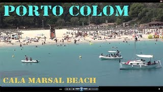 Porto Colom, Cala Marsal beach, why i love this place