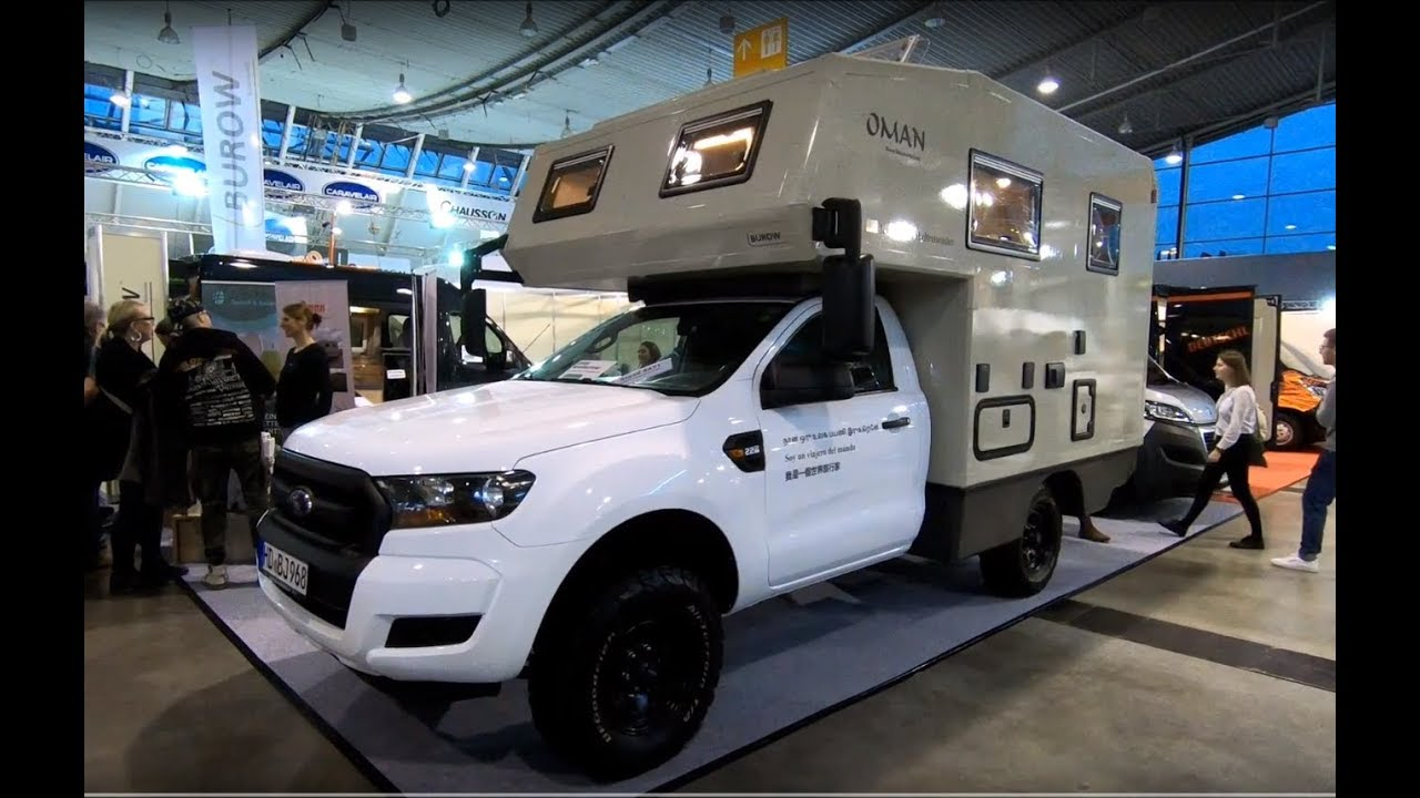Ford Ranger Oman Camper By Buro Walkaround Interior