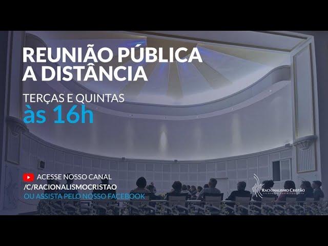 Reunião pública a distância - 08/04/2021