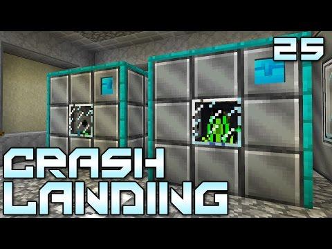 "Minecraft Crash Landing 25 - ""Automated Pneumaticraft Seeds!!!"" (Modded Minecraft)"