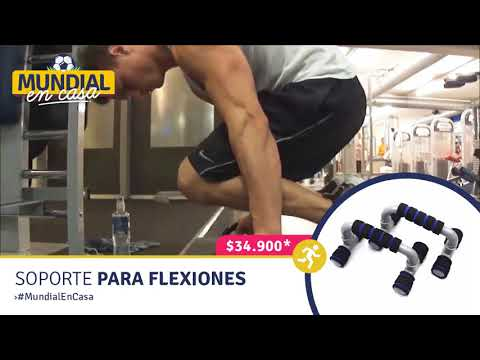 Soporte Flexiones Pecho Ejercicio Gym Lagartijas Push Up Bars RF 132