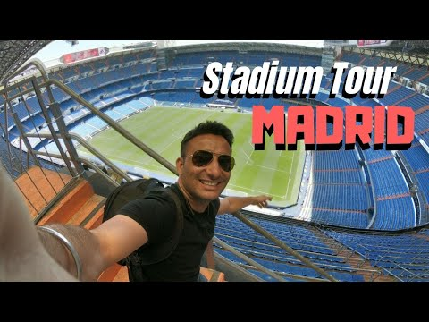 Real Madrid Stadium Tour |Tour Bernabeu| [HD]