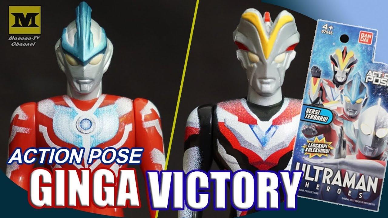Ultraman Action Pose Ginga Victory Bandai Indonesia By