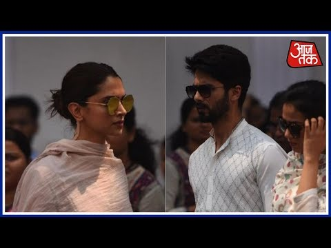 Bollywood Stars Pay Their Respects To Sridevi