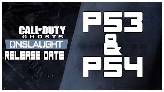 Call of Duty: Ghosts - Onslaught DLC - PS3 & PS4 Release Date