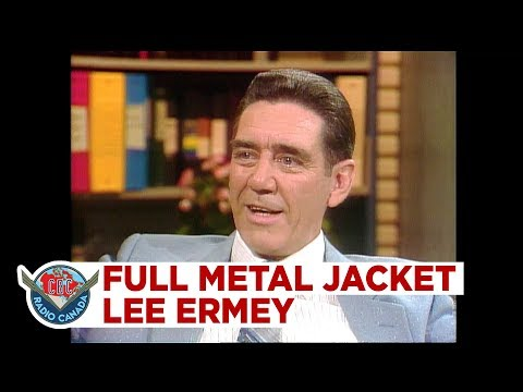 How R. Lee Ermey knew how to act in Full Metal Jacket, 1987