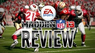Madden NFL 13 REVIEW!