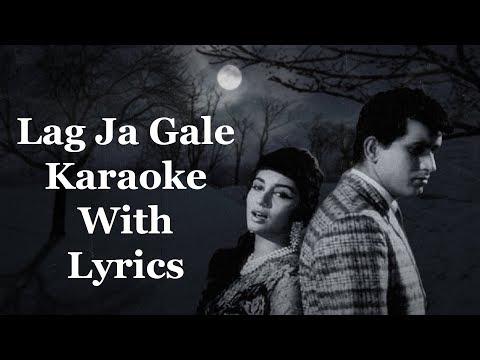 Lag Ja Gale Karaoke With Lyrics | Woh Kaun Thi | Lata Mangeshkar